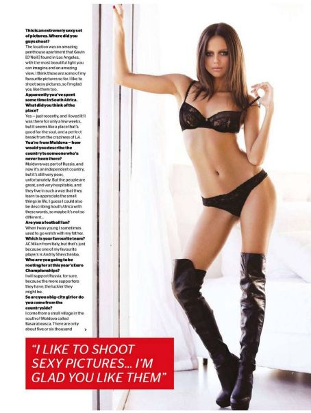 Xenia Deli FHM South Africa May 2012