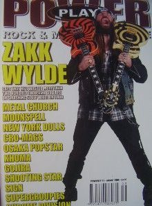 Zakk Wylde - Power Play Magazine Cover [United Kingdom] (July 2005)