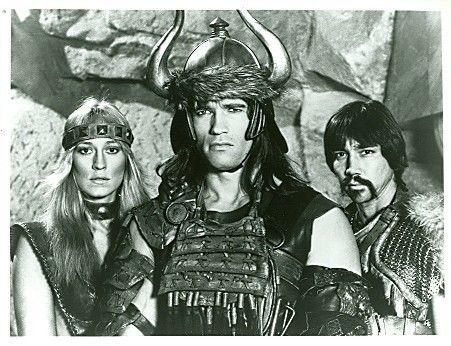 Sandahl Bergman , Arnold Schwarzenegger