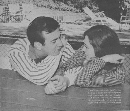 Judi Meredith  with Bobby Darin