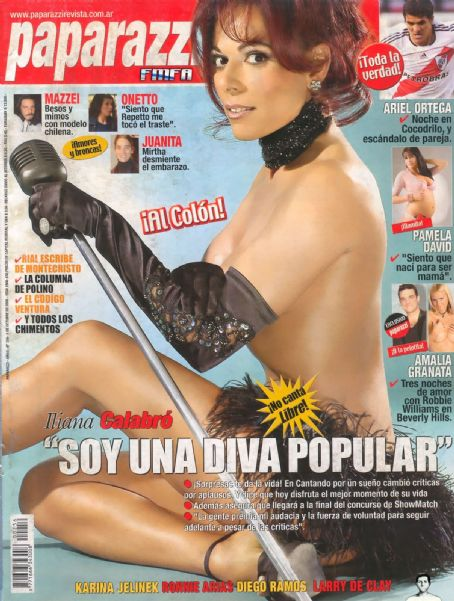Iliana Calabró - Paparazzi Magazine Cover [Argentina] (5 October 2006)