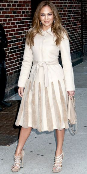 "Jennifer Lopez Arrives at ""The Late Show With David Letterman"" i"