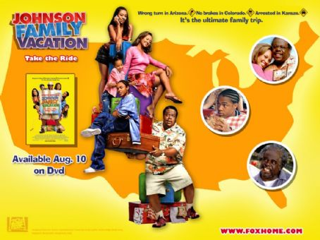 Johnson Family Vacation Cast Johnson Family Vacation DVD