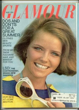 Cheryl Tiegs - Glamour Magazine Cover [United States] (May 1967)