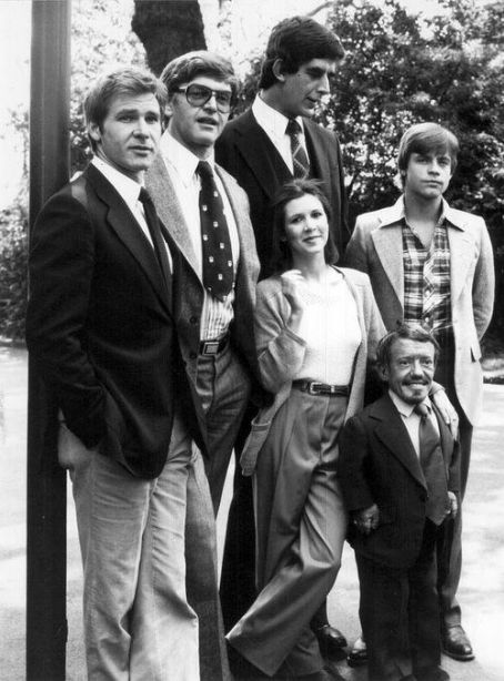 Peter Mayhew The Star Wars Cast (1977)