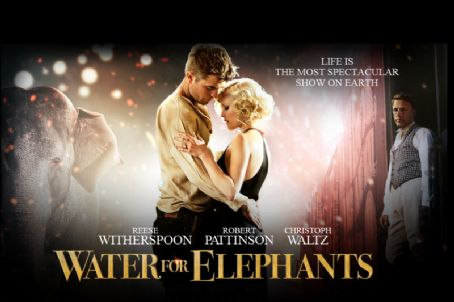 Exclusive: Robert Pattinson & Reese Witherspoon in Water For Elephants