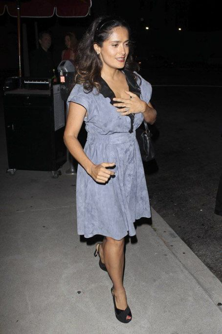 Salma Hayek's Ink Restaurant Date Night