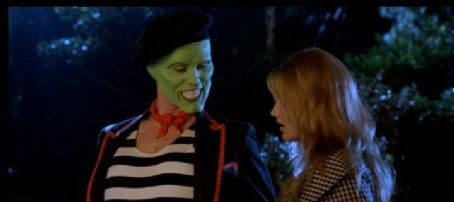 The Mask Cameron Diaz As Tina Carlyle And Jim Carrey As Stanley Ipkiss/ In