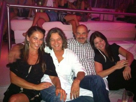 Edward Van Halen - Eddie Van Halen and Janie Liszewski with Valerie Bertinelli Tom Vitale
