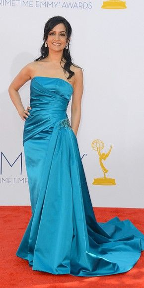 Archie Panjabi: 64th Annual Primetime Emmy Awards in Los Angeles