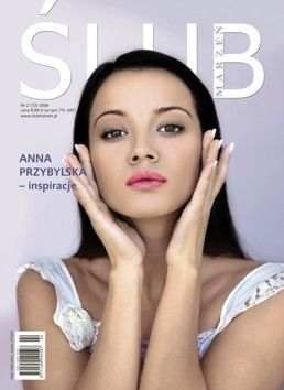 Anna Przybylska - Wedding Magazine Cover [Poland] (February 2006)