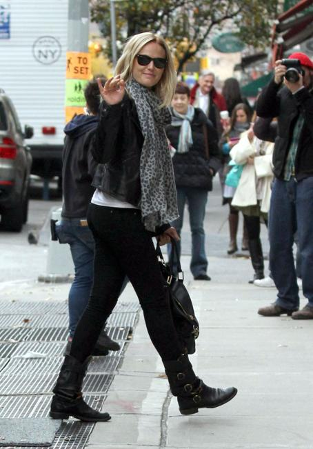 Wanderlust Malin Akerman on the set of