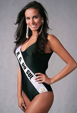 Carol Prates - Miss Brazil International 2007