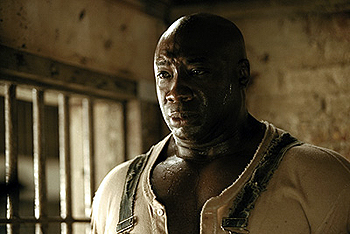 The Green Mile Michael Clarke Duncan in Castle Rock's  - 12/99