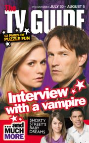 Stephen Moyer, Anna Paquin, Kiel McNaughton - TV Guide Magazine Cover [New Zealand] (30 July 2011)