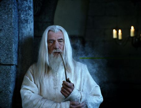 Gandalf  (Ian McKellen) must decide how to best defend Minas Tirith, the chief city of Gondor, in New Line Cinema's epic adventure, The Lord of the Rings: The Return of the King.