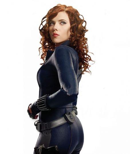 Scarlett Johansson as Natasha Romanoff in Iron Man 2 (2010)
