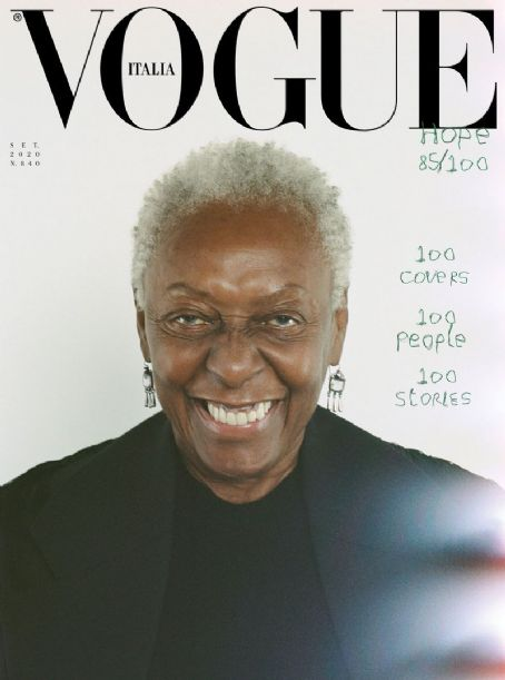 Bethann Hardison - Vogue Magazine Cover [Italy] (September 2020)