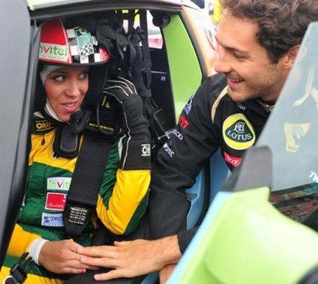 Kiss Ramóna Bruno Senna and