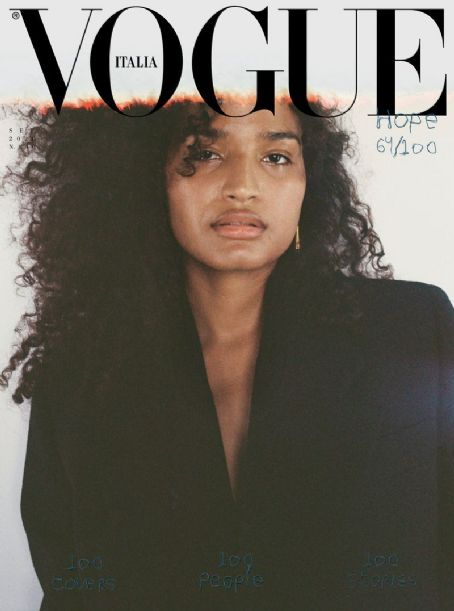 Indya Moore - Vogue Magazine Cover [Italy] (September 2020)