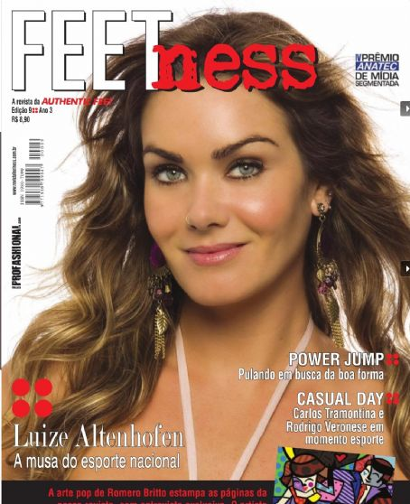 Luize Altenhofen - FEETness Magazine [Brazil] (December 2008)