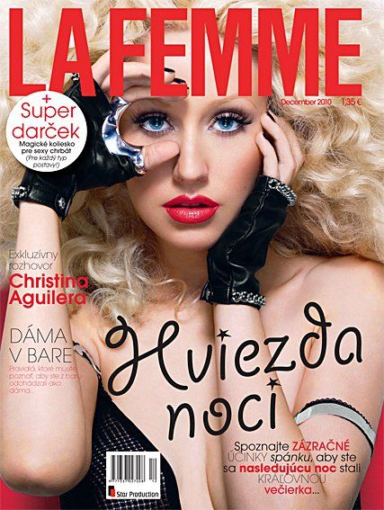 Nelly Furtado - La Femme Magazine [Slovakia] (December 2010)