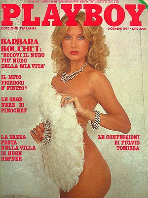 Barbara Bouchet - Playboy Magazine [Italy] (December 1977)