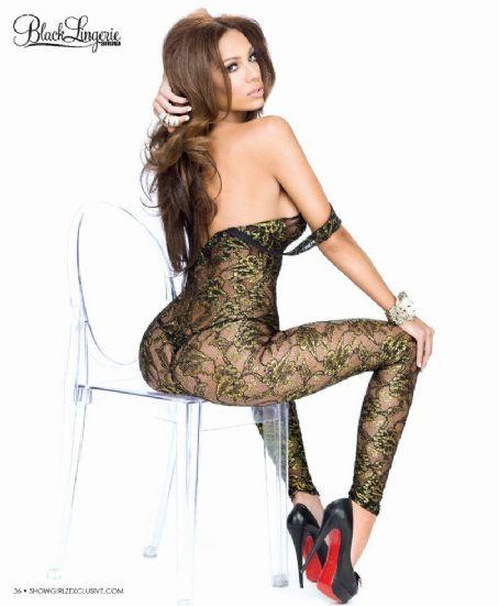 Erica Mena  Black Lingerie 16