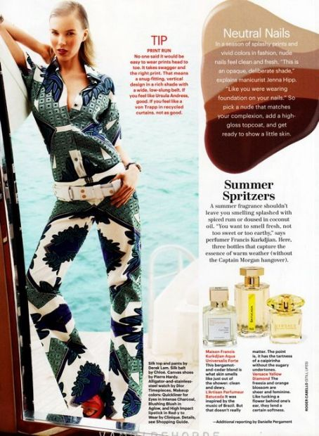 Britt Maren  - Allure Magazine Pictorial [United States] (June 2012)