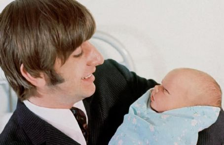 Zak Starkey Ringo And His Son Zak 1965