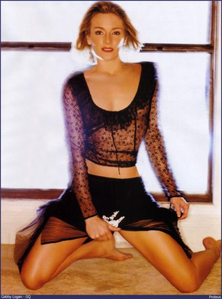 Gabby Logan  - GQ Magazine Photoshoot