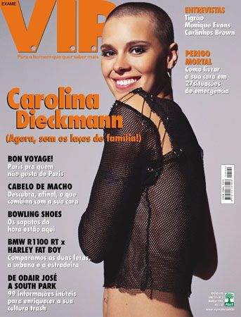Carolina Dieckmann - VIP Magazine [Brazil] (March 2001)