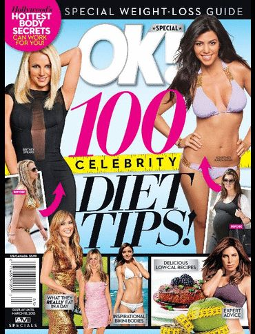 Kourtney Kardashian, Britney Spears, Miranda Kerr, Jennifer Aniston, Jennifer Lopez - Ok! Special Magazine Pictorial [United States] (18 March 2013)