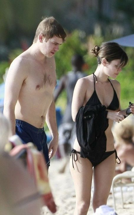 Hayden Christensen - On the beach in Barbados (April 22)