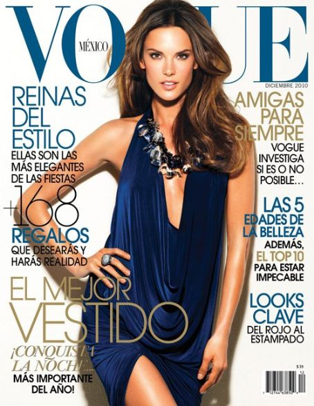 Alessandra Ambrosio - Vogue Magazine [Mexico] (December 2010)