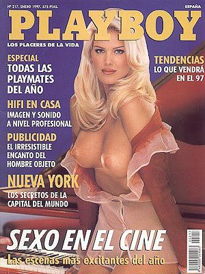 Victoria Silvstedt - Playboy Magazine Cover [Spain] (January 1997)