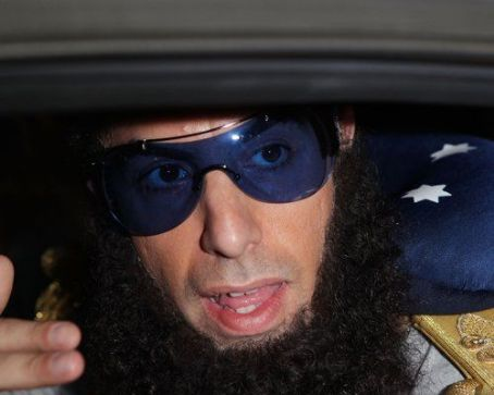 "Sacha Baron Cohen Brings ""The Dictator"" Down Under"
