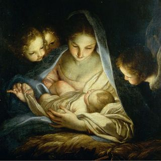 Christmas MARY AND CHILD