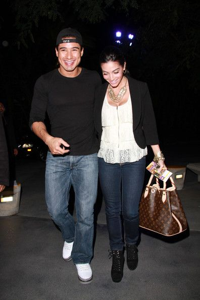 Courtney Mazza - Mario Lopez and Courtney Laine Mazza