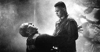 Peter Firth and Cuba Gooding Jr. in Warner Brothers' Chill Factor - 1999