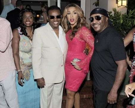 Kandy Johnson Ronald Isley and