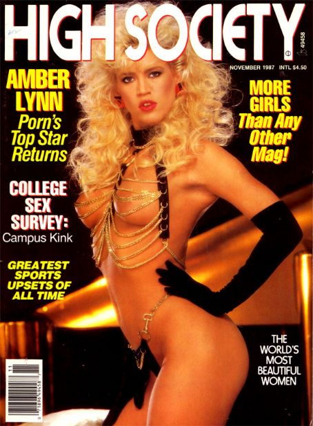 Amber Lynn - High Society Magazine [United States] (November 1987)