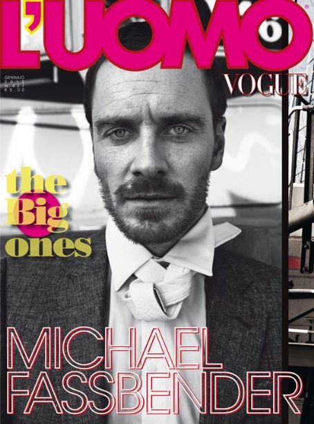 Michael Fassbender - LUomo Vogue Magazine Cover [Italy] (1 January 2012)