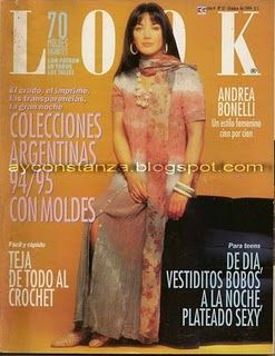 Andrea Bonelli - Look Magazine Cover [Argentina] (October 1994)