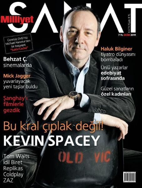 Kevin Spacey, Milliyet Sanat October 2011