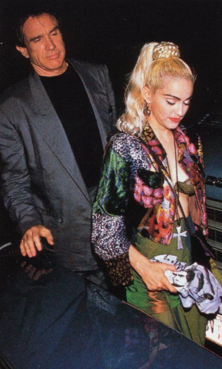 Madonna & Warren Beatty