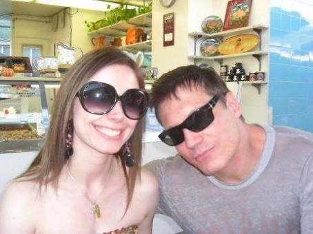 Holt McCallany Nicole Wilson and boyfriend, .