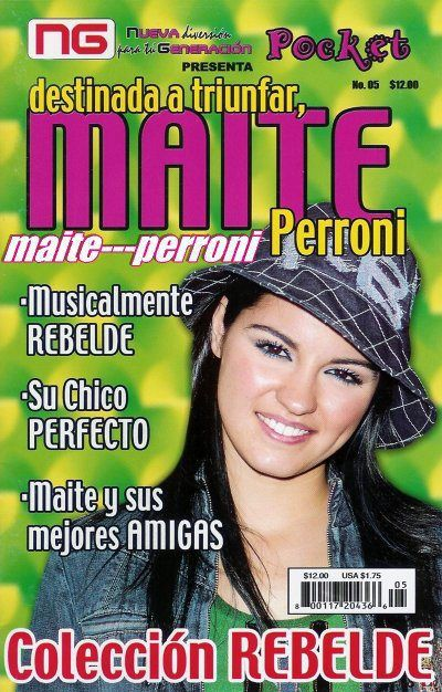 Maite Perroni - OTHER Magazine Cover [Mexico] (1 June 2007)
