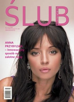 Anna Przybylska - Wedding Magazine Cover [Poland] (July 2006)