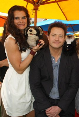 Brendan Fraser - Los Angeles Premiere of 'Furry Vengeance'